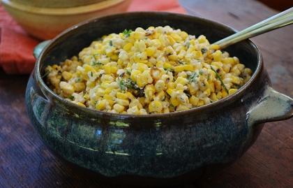 Ensalada de maíz mexicana