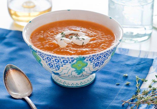 Carrot soup, Sopa de zanahoria, 10 Recipes for Autumn