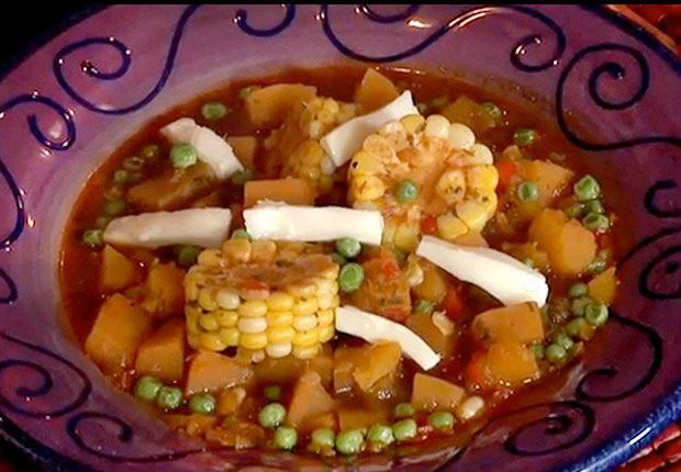 Peruvian soup with corn, 10 Recipes for Autumn