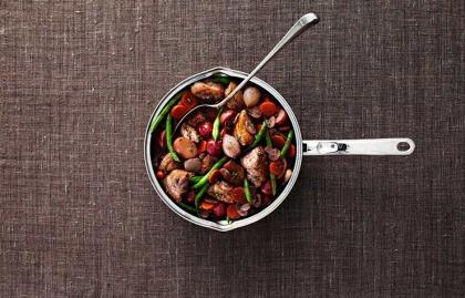 Coq Au Vin - Pollo rostizado, 3 platos fáciles