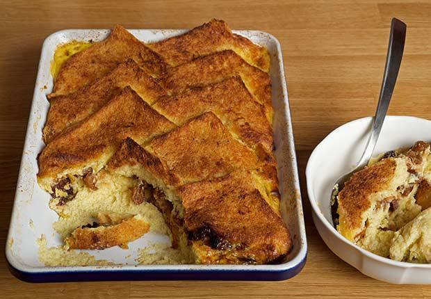 Latin Desserts for Diabetics Bread Pudding ESP