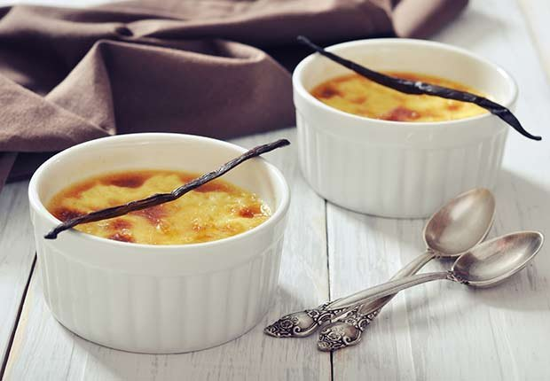 Latin Desserts for Diabetics Vanilla Custard ESP