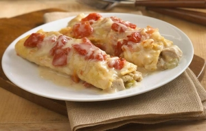 Thanksgiving Leftovers Turkey Stuffing Enchiladas Chef George Duran ESP