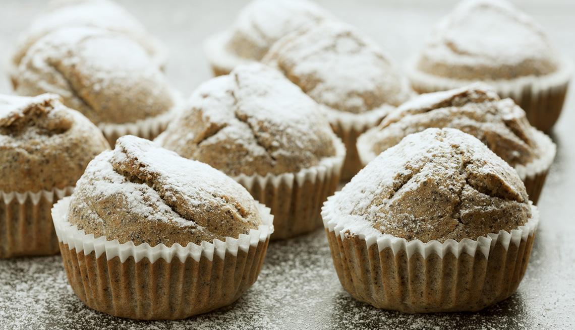 Muffins agrupados