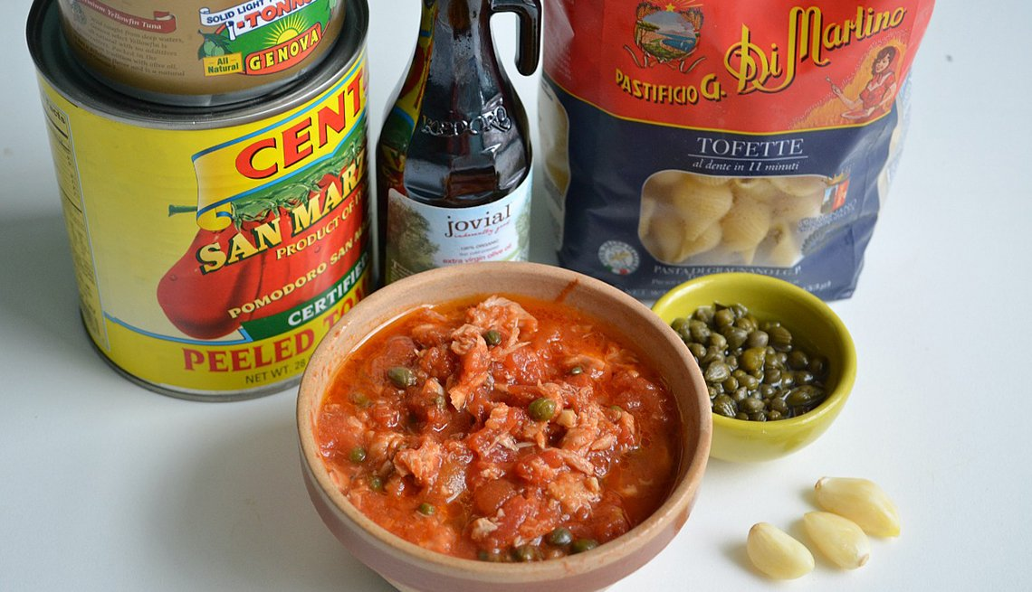Tuna and Capers, Simple Pasta Sauces, Recipe