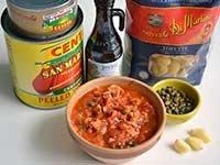 Pam Anderson Recipe Pasta Sauce Tuna Capers