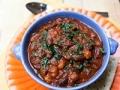 Chili vegetariano ahumado y espeso
