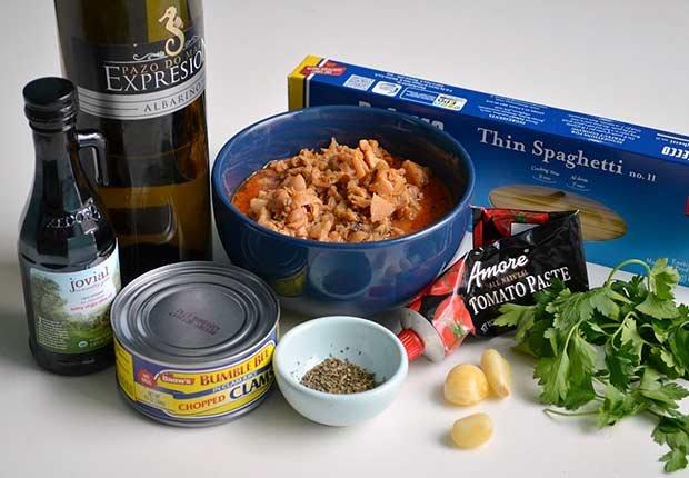 Pam Anderson Recipe Pasta Sauce Clam Sauce