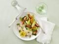 Una versión diferente de una ensalada clásica y de la receta de pargo colorado