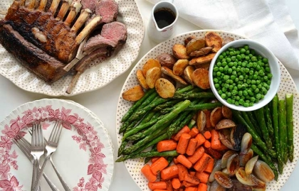 Cordero para la cena de Pascua