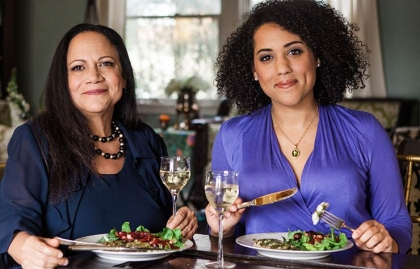 La autora Alice Randall y su hija Caroline Randall Williams.
