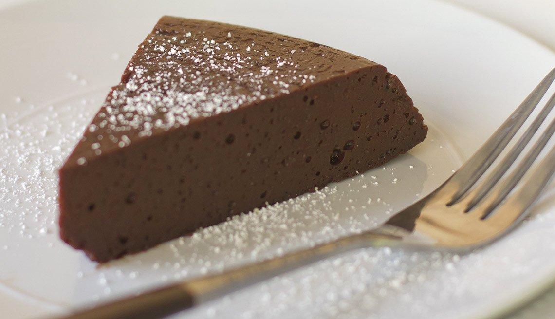 Torta tentadora de chocolate