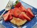 Fresas con mascarpone y yogur griego - Cena para dar la bienvenida a la primavera
