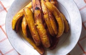 Plátano asado