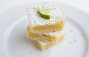 Barras de margarita, sin gluten