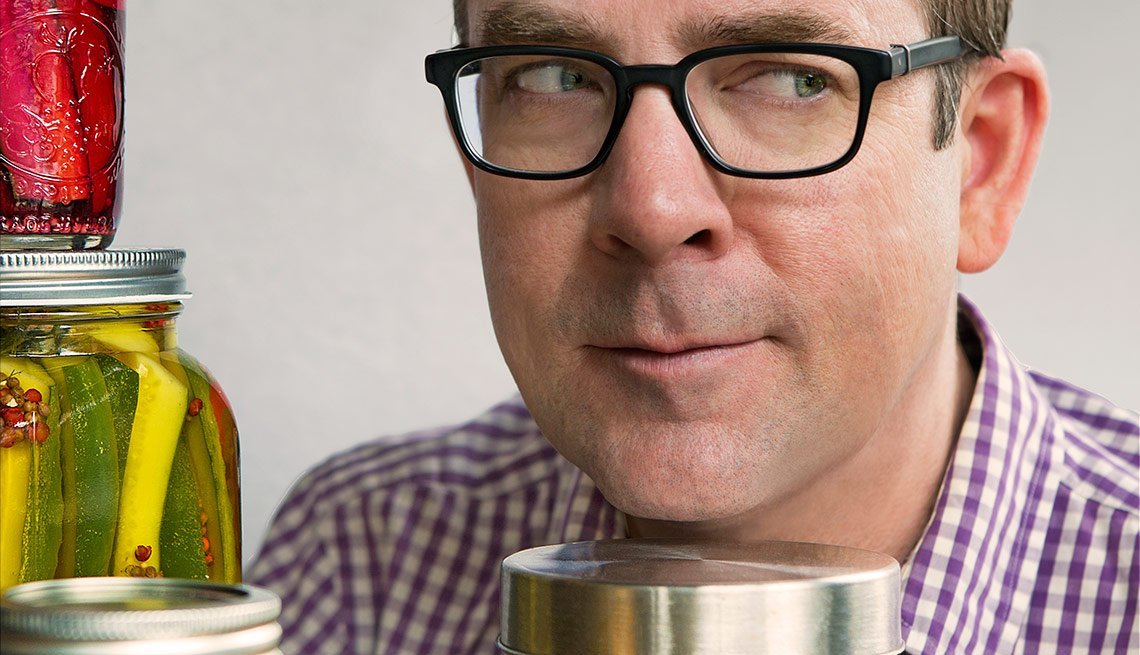 Ted Allen Brine Dandy Pickles Jar