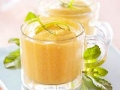 Mousse de mango y limón