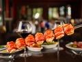 Pechuga de pollo envuelta en tocino estilo Texas de Brazil