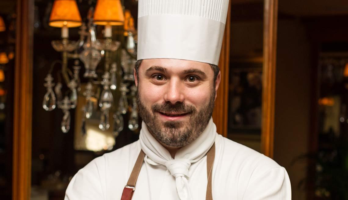 Chef Gregory Pugin.