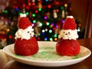 Santa Claus de fresas