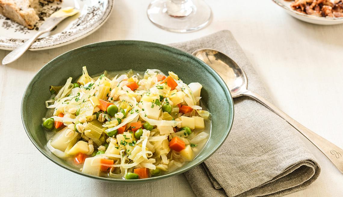 Sopa de Verduras - Recetas para preparar en invierno