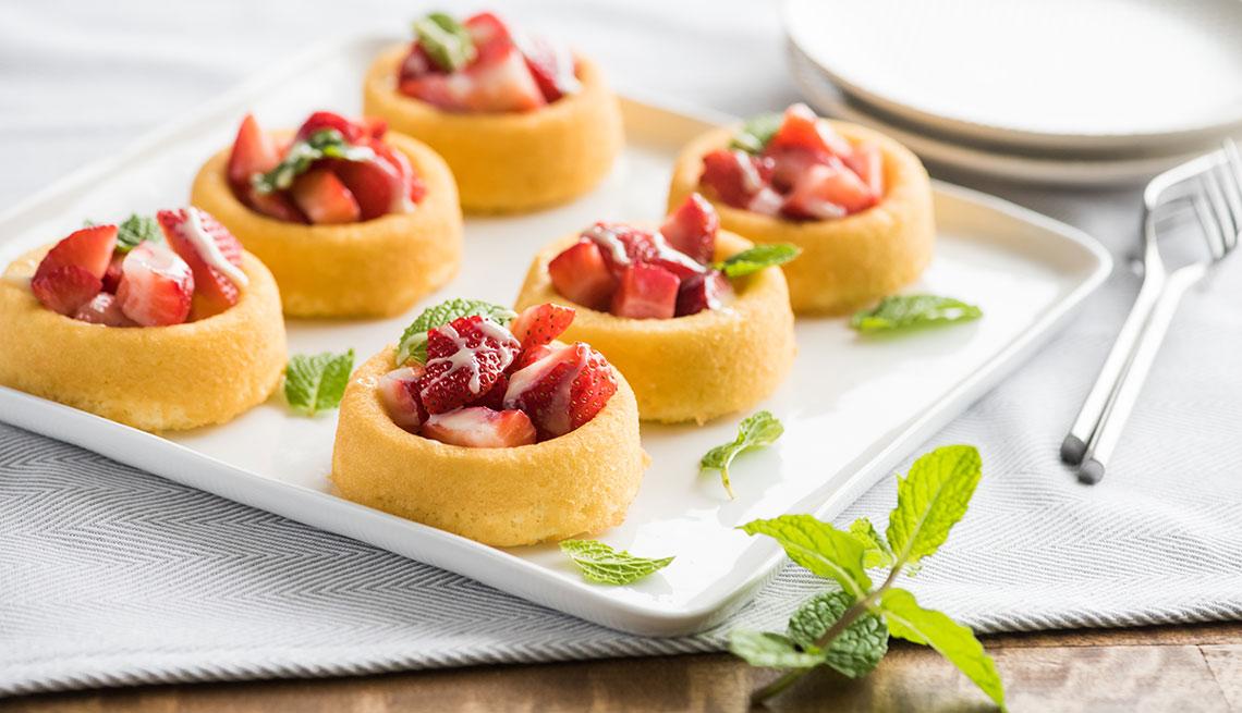 Postre de fresa - Tres recetas con ingredientes primaverales