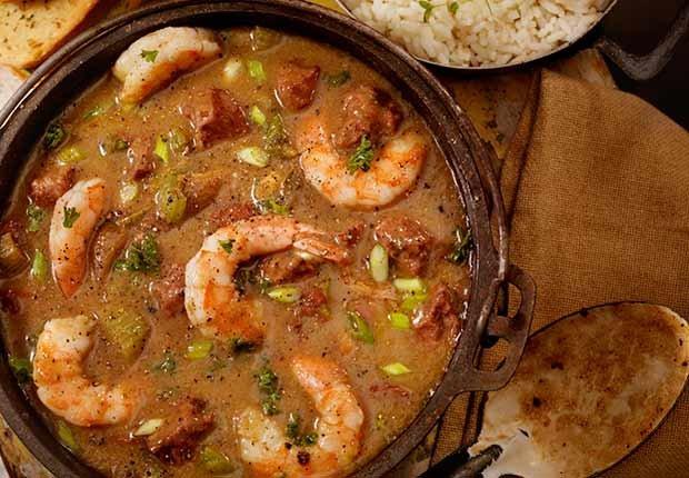 Recetas de camarones con sabor latino - Asopao de camarones