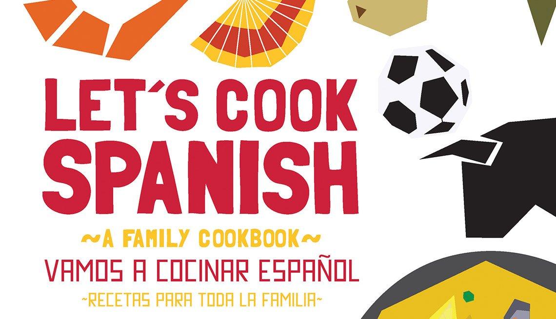 Chef Gabriela Llamas - Portada del libro Let's Cook Spanish