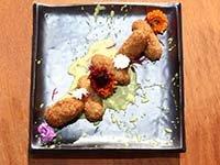 'Bolinhos' de cangrejo