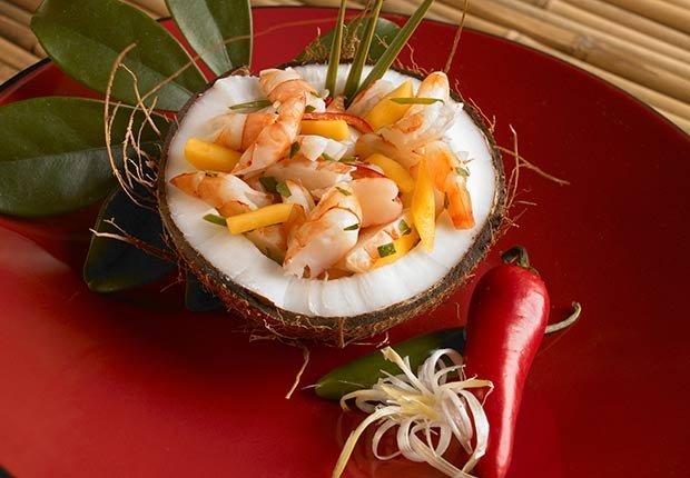 Ceviche de coco