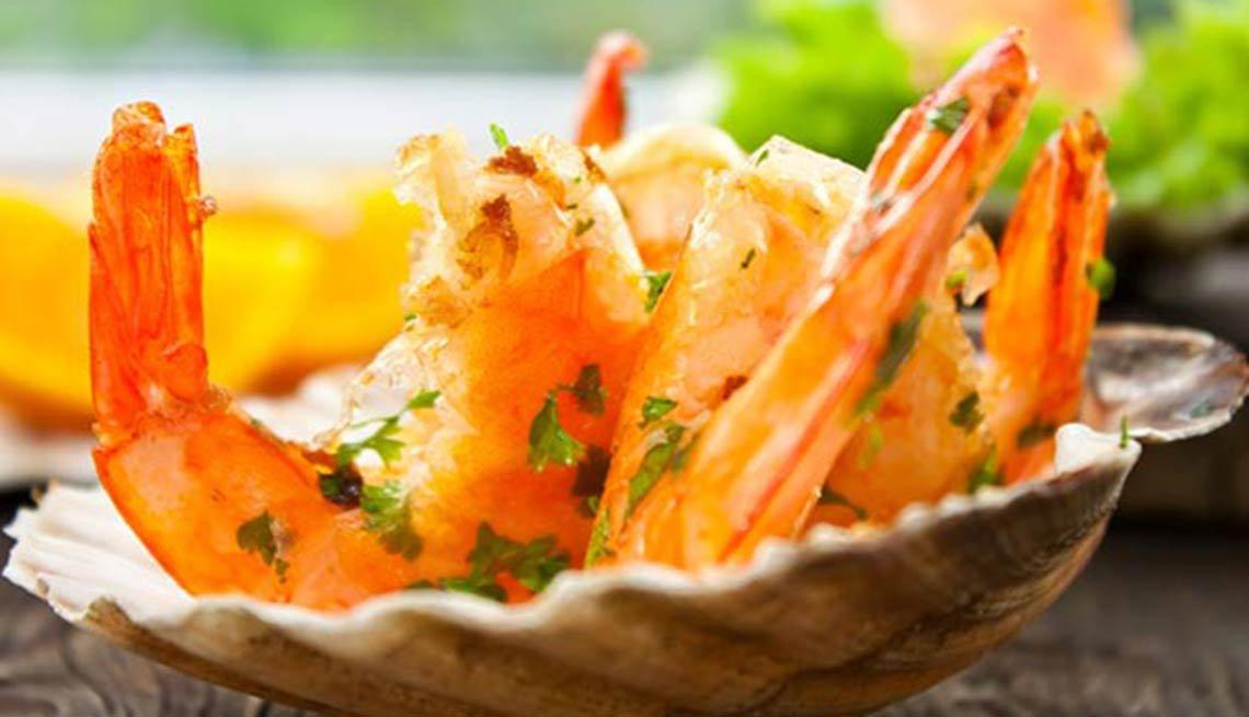 Camarones Naranja Guayaba