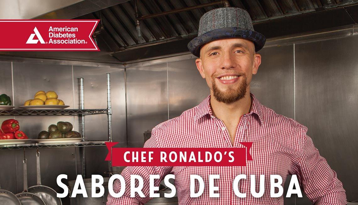 Carátula del libro Chef Ronaldo's Sabores de Cuba