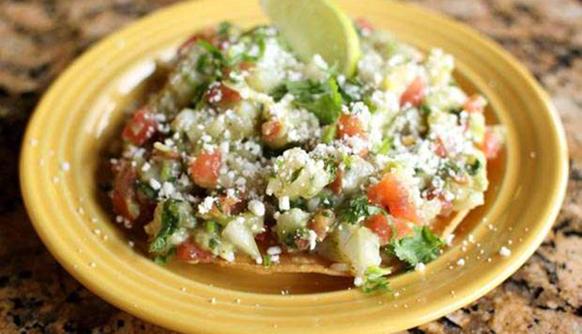 item 6 of Gallery image - Ceviche vegetariano