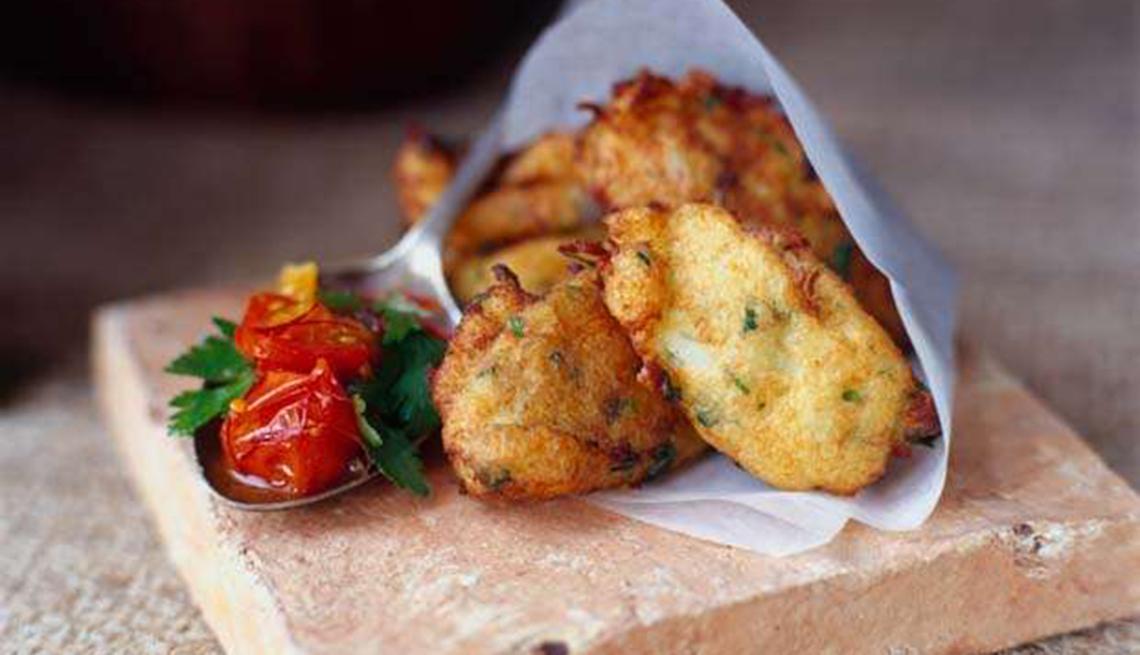 item 12 of Gallery image - Bacalaítos fritos
