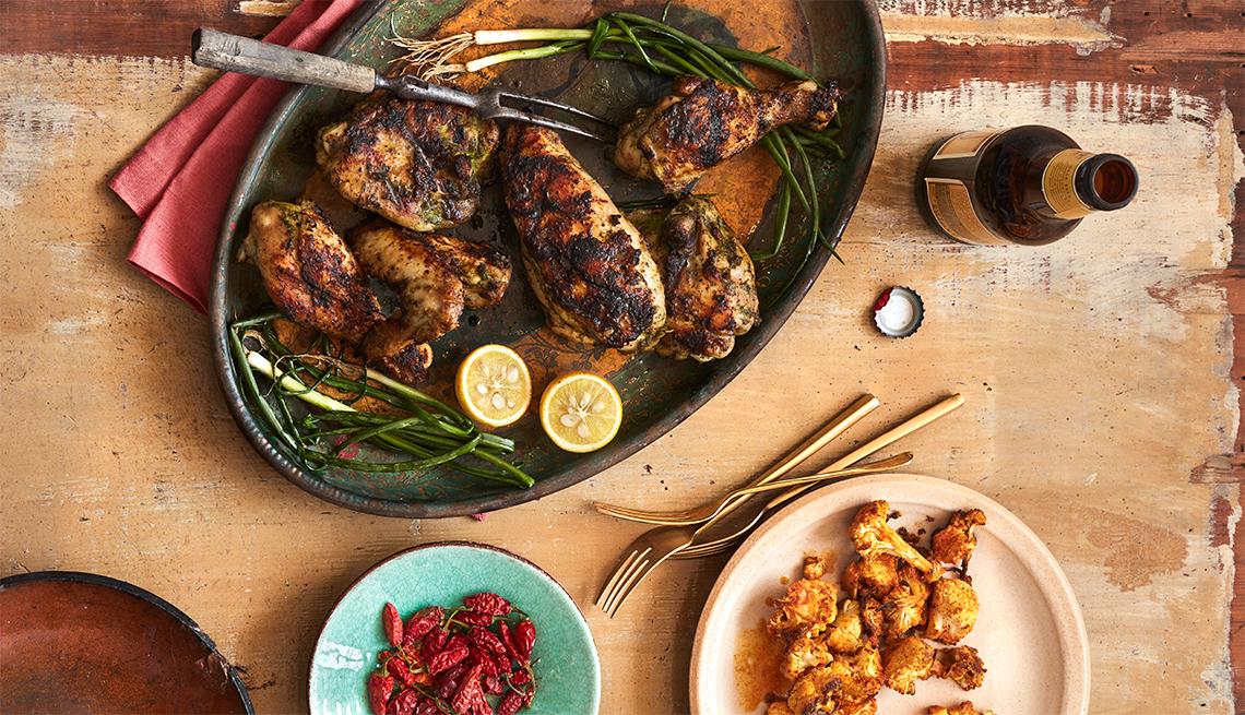 Ziggy Marleys Jerk Chicken Recipe Caribbean Cooking Aarp