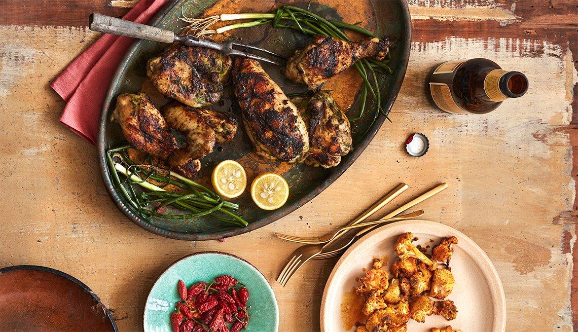 Ziggy Marley recrea la receta familiar del pollo jerk