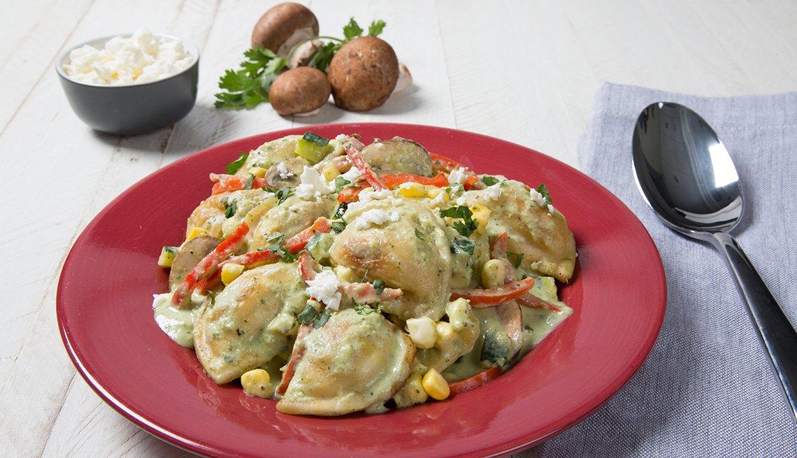 Pierogies poblanos del chef Jose Garces