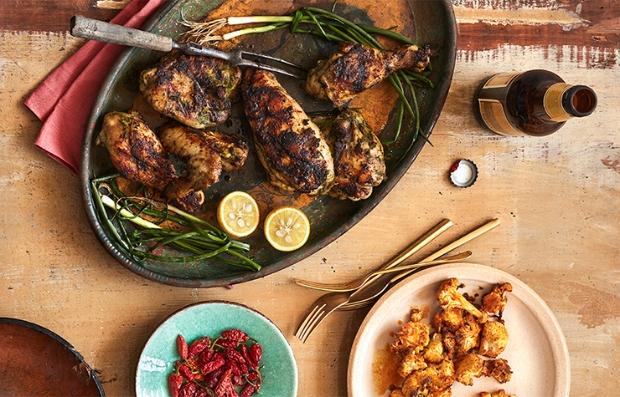 Ziggy Marley recrea la receta familiar del pollo jerk.