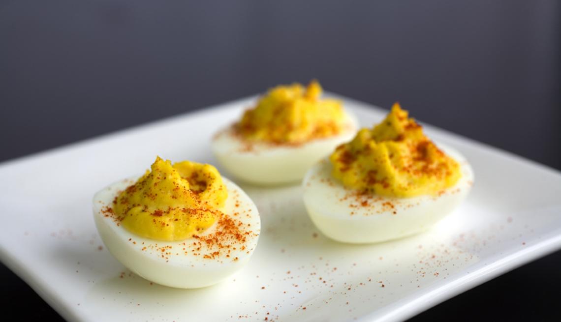 Huevos endiablados