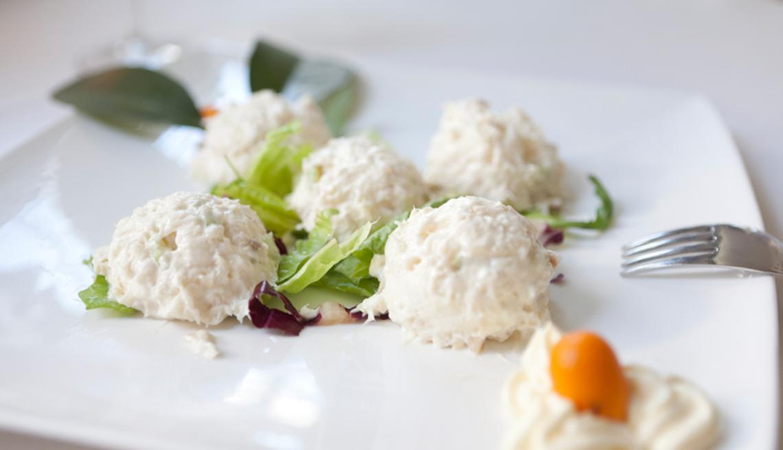 Crema de bacalao salado