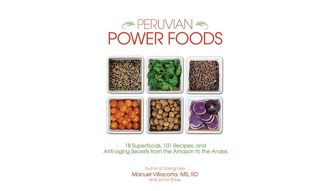 Carátula del libro Peruvian Power Foods