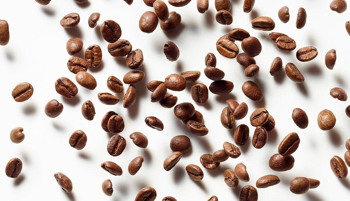 Granos de café sin moler