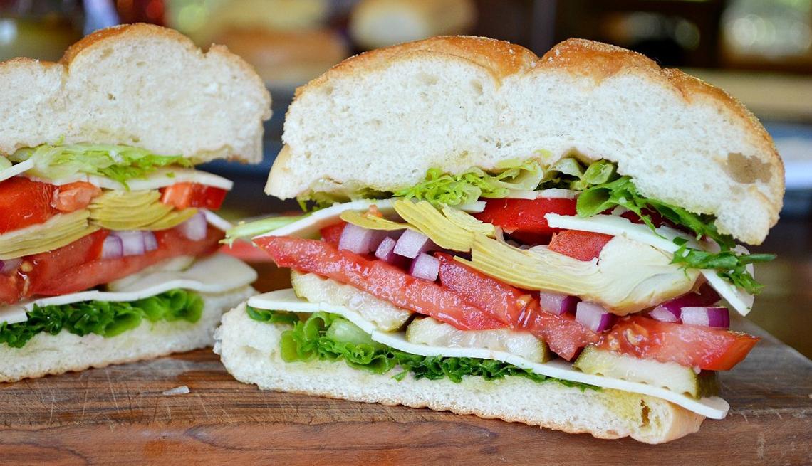 Sándwiches Sin Carne Sánduches Vegetarianos