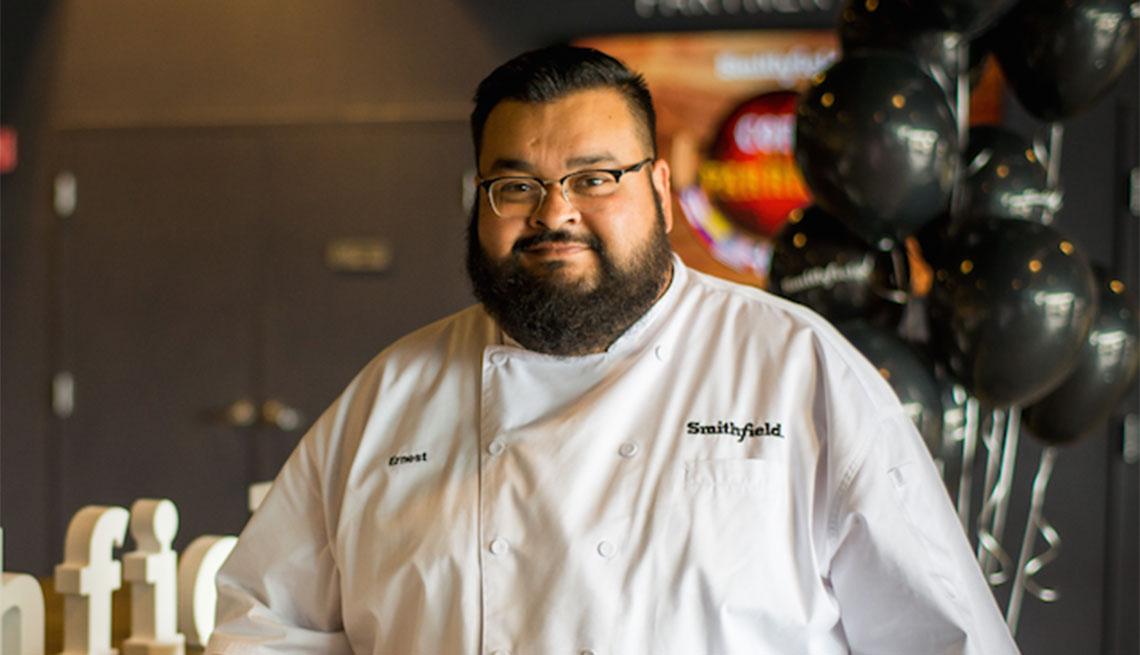 Chef Ernest Servantes