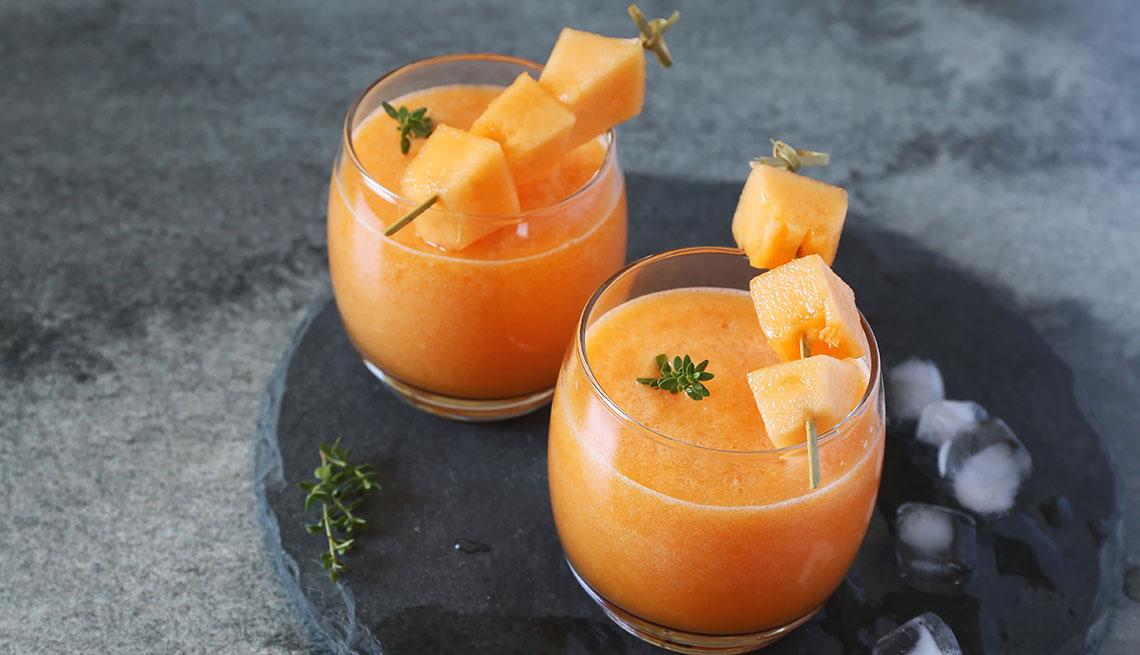 item 15 of Gallery image - Batido de cantaloupe y jengibre