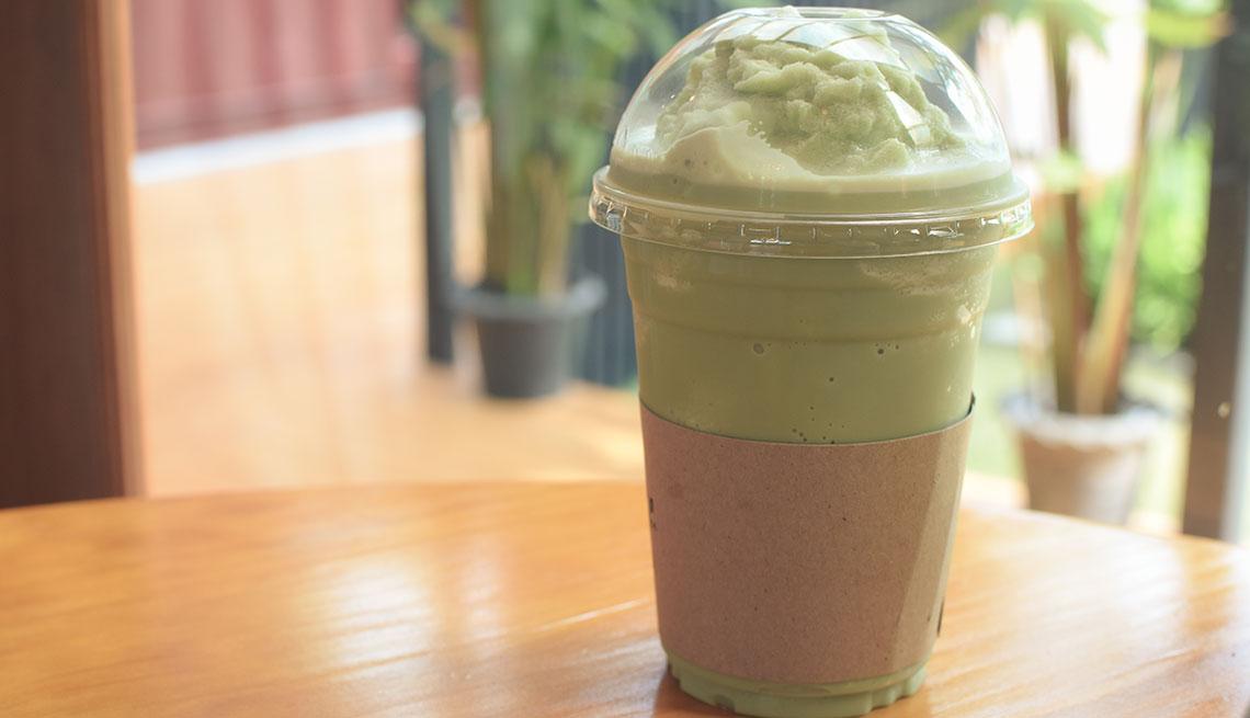 item 5 of Gallery image - Batido de café y matcha