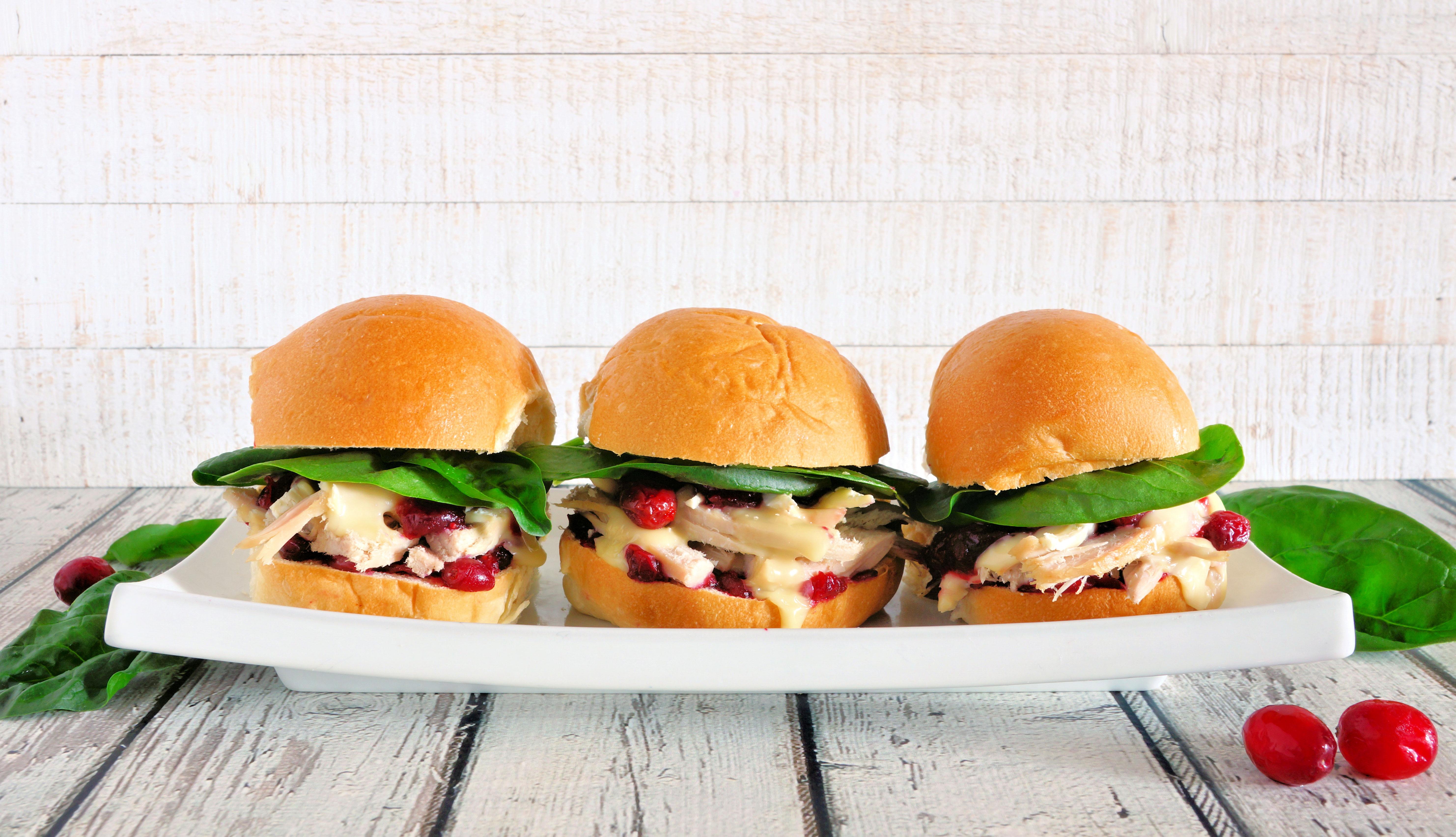 Mini hamburguesas de pavo