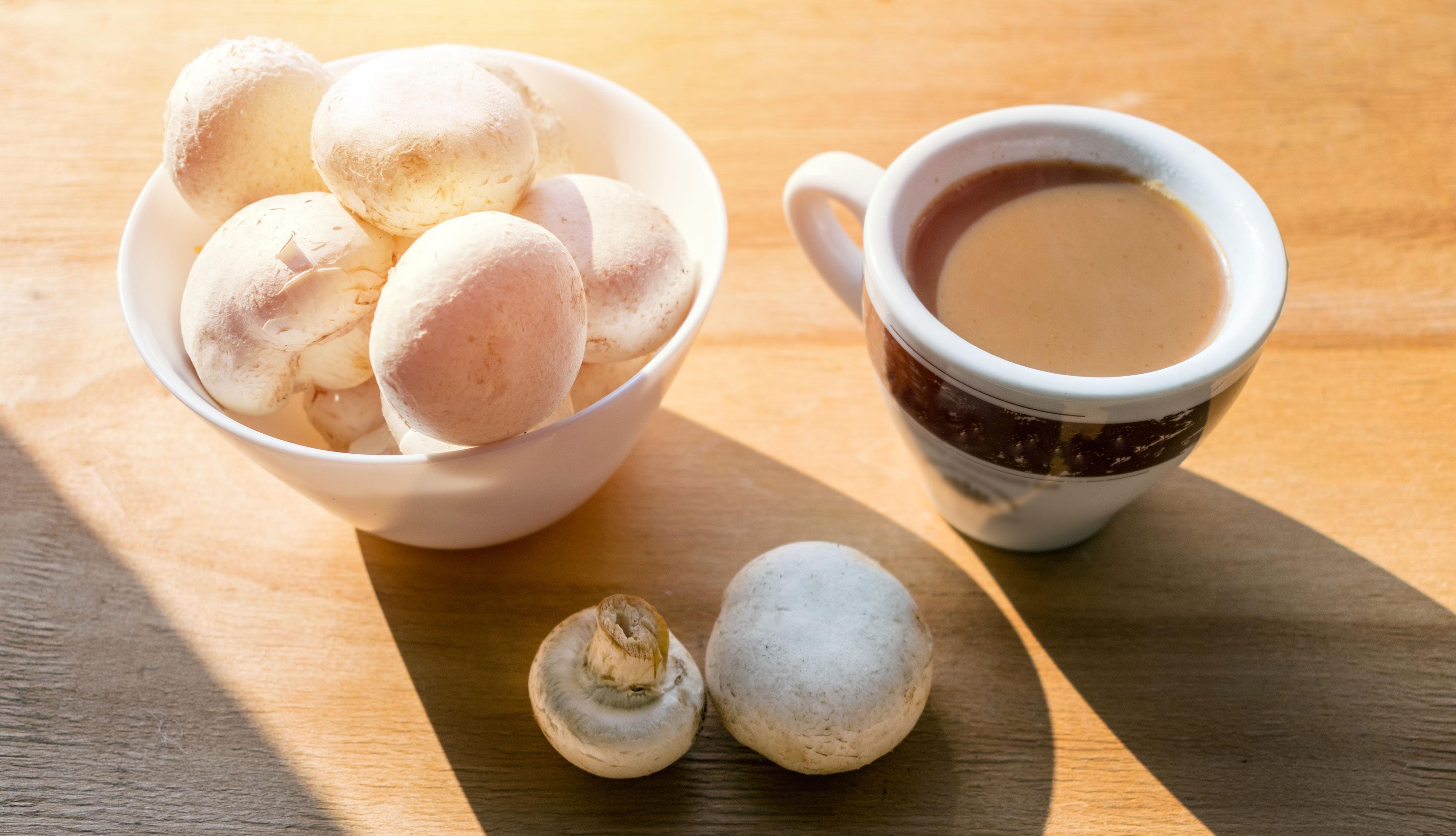 item 3 of Gallery image - Hongos y café
