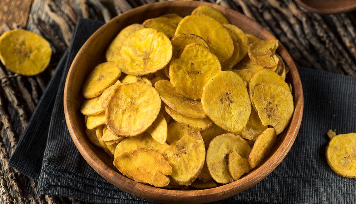 Chips de plátanos