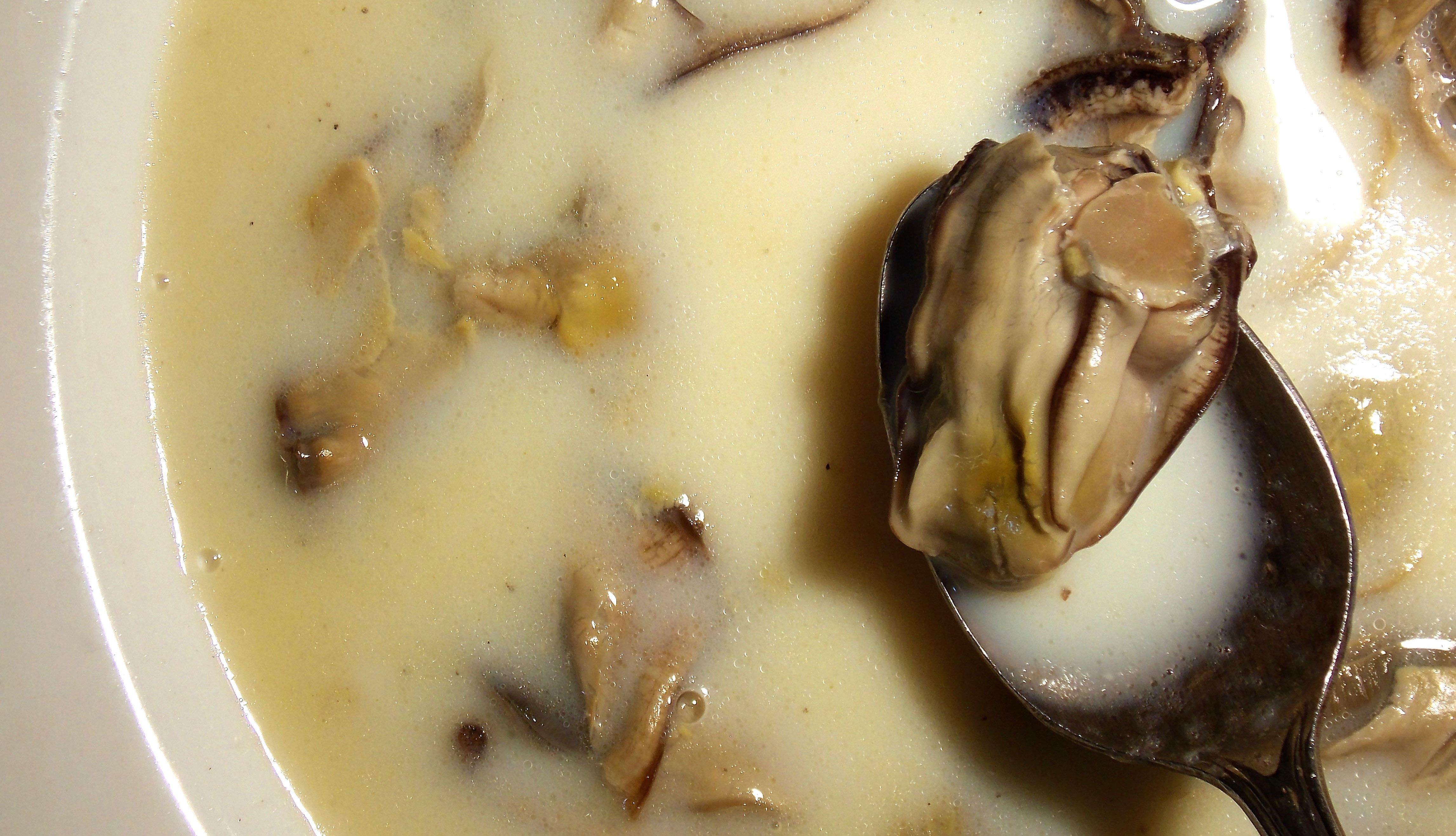 Guiso de ostras